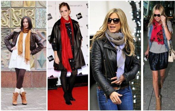 шарфов на пальто