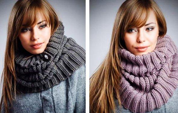 шарфы шарф снуд