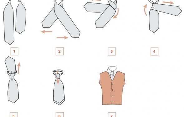 Завязываем платок мужчине для