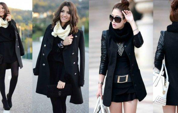 Черное пальто и классический
