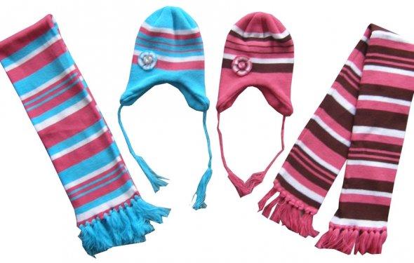 Комплект детский (шапка+шарф)
