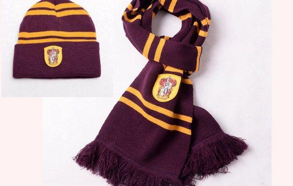 гарри поттер шарф, шапку