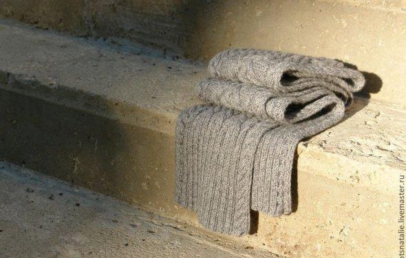 вязаный шарф, мужской шарф