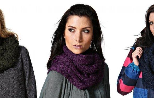 Модные шарфы для женщин