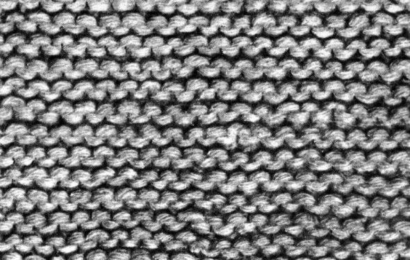 Виды простейших вязаний