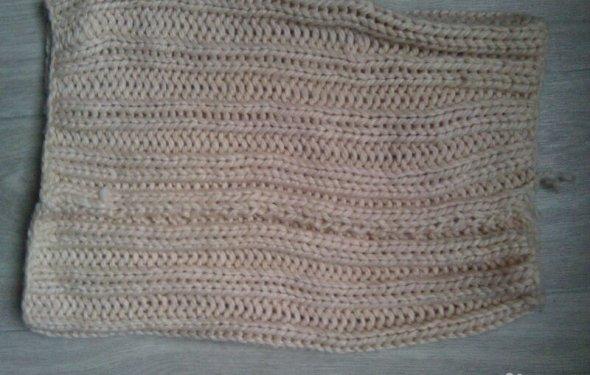 Новые бежевые шарфы-хомут