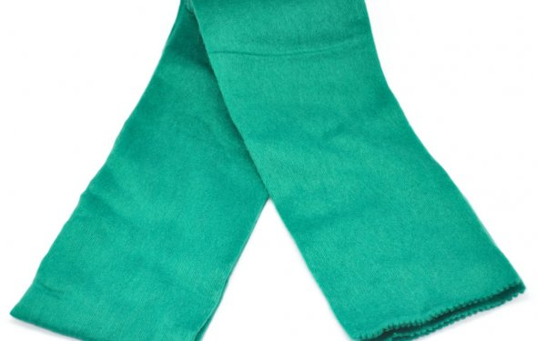 Шарф зеленый GS1