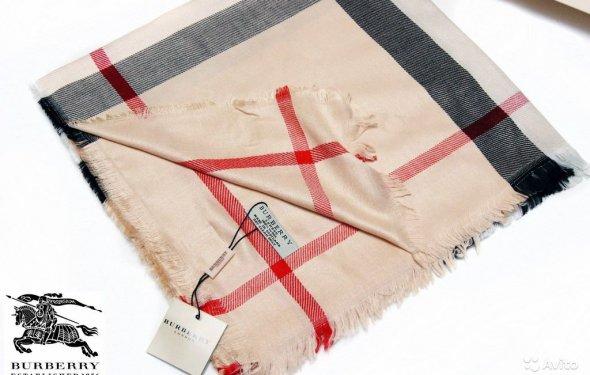 Шерстяной платок шарф Burberry