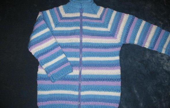 Вязание детской кофточки