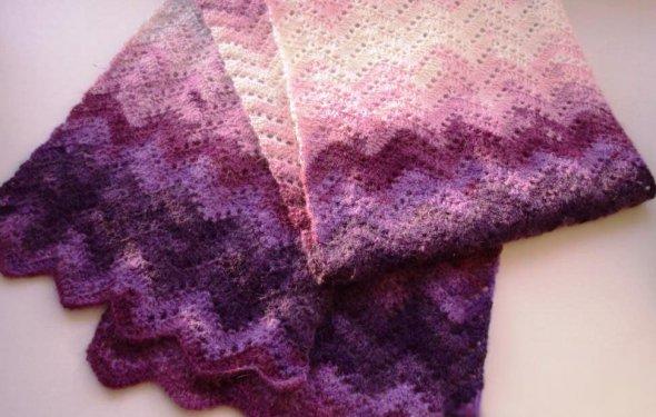 Цветной шарфик